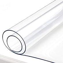 Lonas Espese las lonas impermeables transparentes con ojal, cubierta de PVC transparente para áreas de