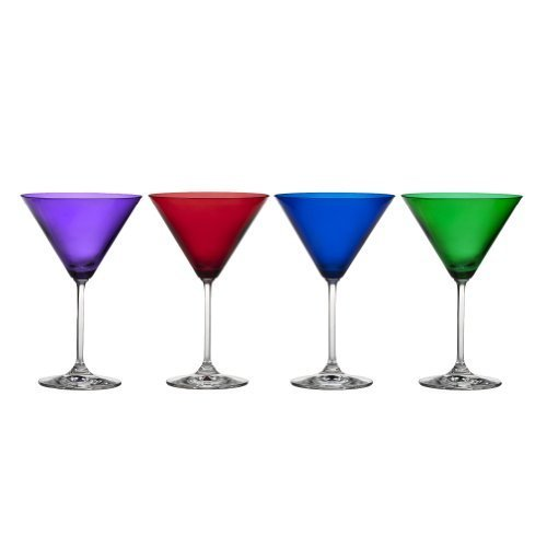 Marquis By Waterford Vintage Jewels Martini Glas, Set 4von Marquis by Waterford -