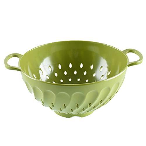 Sieb Küchensieb Küchen Gadgets Seiher Gemüse und Obst sind blau, wasserdicht und feuchtigkeitsbeständig, leicht und verschleißfest