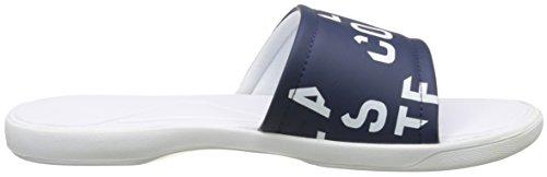 Lacoste L.30 Slide 117 2 Cam Nvy, Tongs Homme Bleu (Nvy)