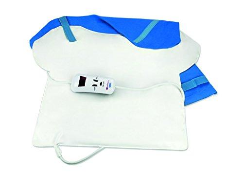 Almohadilla termica espalda - tamaño 57 x 46 cm - potencia 120 w - esterilla electrica térmica para toda la espalda zona cervical, lumbar, cuello - manta eléctrica