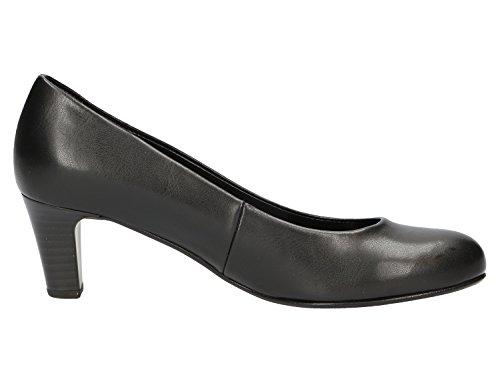 Gabor Gabor Basic, Scarpe col tacco donna nero (nero)