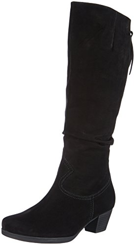Gabor Shoes Gabor Comfort, Boots femme Noir (Schwarz (Micro)