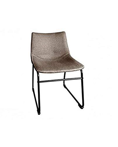 designement Chaise de Repas Tissu, 54 x 45 x H.74 cm.