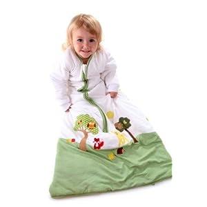 Saco de dormir de invierno para niño Slumbersac 3.5 Tog Amigos del Bosque 3-6 años-130cm