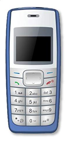 I KALL 1.44 inch (3.65 cm) Single Sim Feature Phone - K72 (Blue)