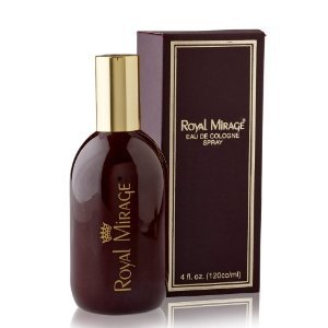 Royal Mirage Brown Eau de Cologne Classic Original - 120 ml
