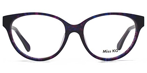 Miss KG Dory Glam Cateye lunettes en Demi violet MKGS015-PUR clear