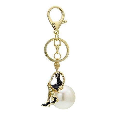 KesiErte Crystal Angel Keychain Cadeaux créatifs Cadeaux Cadeaux Cadeaux Cadeaux Cadeaux , A