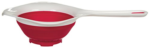 Prepworks by Progressive Collapsible Hand Strainer, 1.5-Quart by Progressive Progressive 1.5 Quart Collapsible