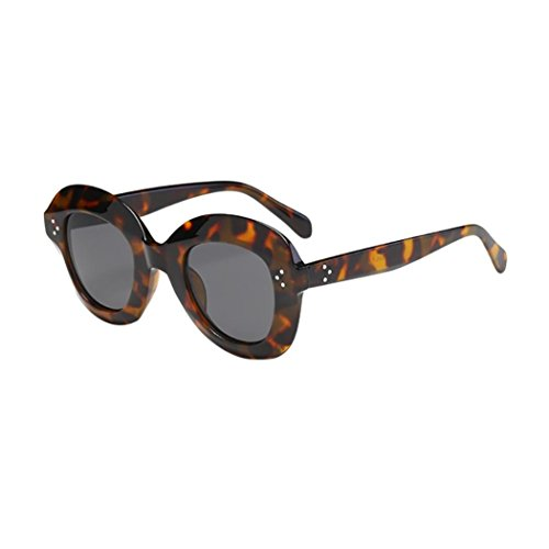 e96a11071f Keepwin Verano Nuevo Mujer Oversized Gafas De Sol Polarizadas ProteccióN  Grande Marco (E)