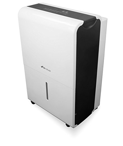 Air and Me KOMP0001 40L Kompressor déshumidificateur Pompe de relevage intégrée-40 l/j, Blanc
