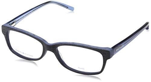 Tommy Hilfiger Unisex-Erwachsene TH 1018 Brillengestelle, Schwarz, 54
