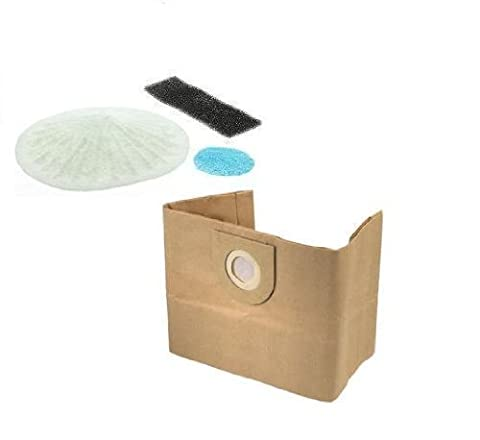 First4Spares Dust Bags & Filter Set For Vax 3-in-1 Multifunction 6131 Vacuum Cleaners x 10 Bags