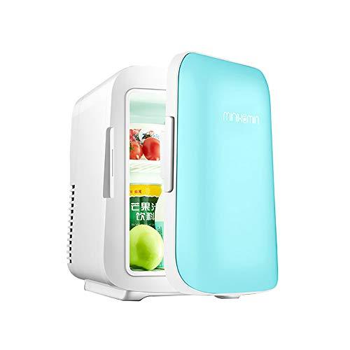 M 4L Tragbarer Mini-Kompakter Persönlicher Kühlschrank-Auto-Kühlschrank Ultra Leiser Geräuscharmer Elektrischer Kühler Und WäRmer Einzelsystem Für Kühlung Und Heizung ()