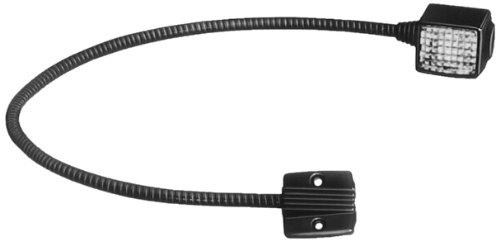 HELLA 2AB 004 532-001 Leseleuchte, Multivolt 12/24 V,  Lichtscheibe glasklar, Belnde schwarz, Leuchtarm flexibel