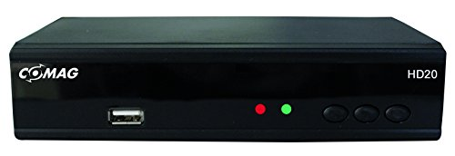 Comag HD20 HDTV Satelliten Receiver (HDMI 1080p, USB 2, PVR Ready) schwarz