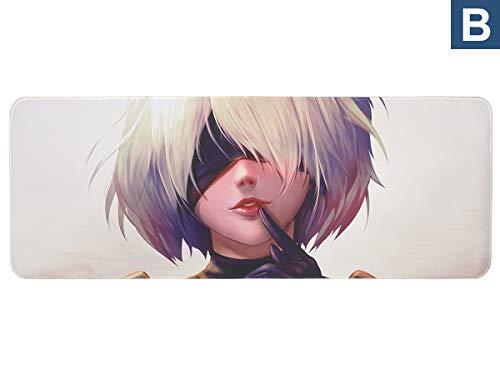 Großes NieR: Automata Gaming Mauspad, XXL Manga Tischauflage, Yorha Motiv B