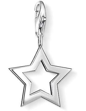 Thomas Sabo Damen-Charm-Anhänger Stern Charm Club 925 Sterling Silber 0857-001-12