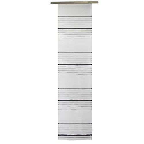 Gözze, tenda a pannello scorrevole casablanca light, nero (schwarz), 60 x 245 cm