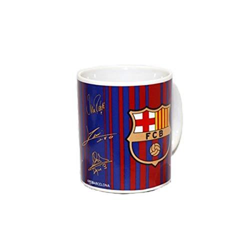 Unióll S.L. Barça Taza Rayas y Firmas
