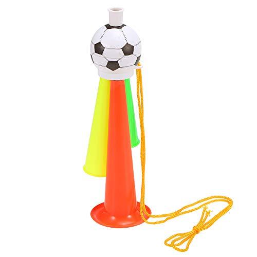 Trompete, Fan Cheer Bugle, Fußball Sport Spiel Spielzeug Horn, zufällige Farbe ()
