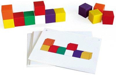 Oz International-cubes Geometrie : 30 Fiches - 76 cubes