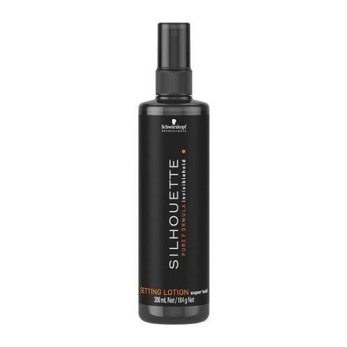 Schwarzkopf Silhouette Setting Lotion super hold, 200 ml, 1er Pack, (1x 200 ml) (Schwarzkopf Silhouette)