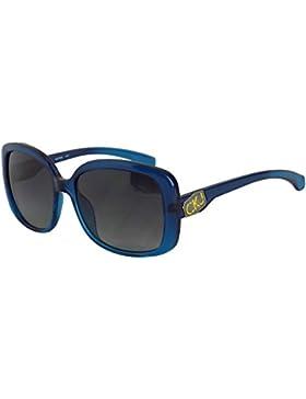 CALVIN KLEIN JEANS Damen Sonnenbrille blau blau