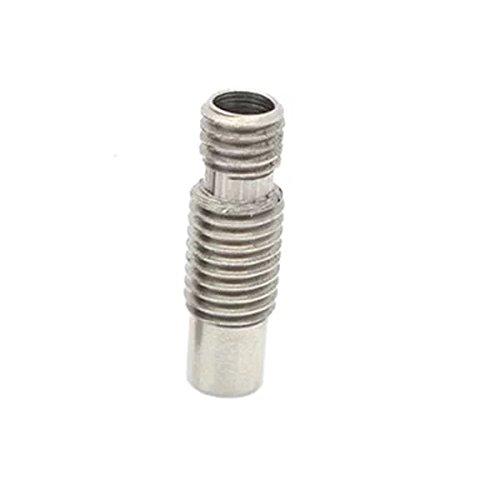 Preisvergleich Produktbild Goliton 1pc E3D V6 Remote-Power-Schlucht 4.1mm All-Metall heies Ende der Edelstahlrohre Versorgungsrohr 3D-Druckteil