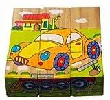 Qiaolinglong 9 Piece Colorful Wooden Blo...