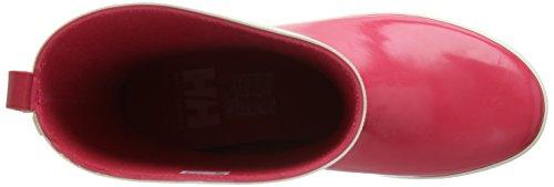 Helly Hansen Junior Midsund Welly, Unisex-Kinder Stiefel Pink (145 MAGENTA / OFF / WHITE / SI)