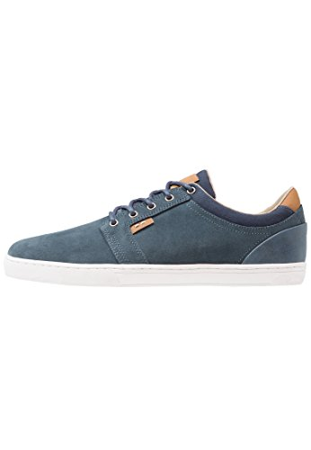 Pier One Wildleder Sneaker Herren in Blau – Low Top Sneakers Aus Veloursleder, 44 Jeezy Schuhe