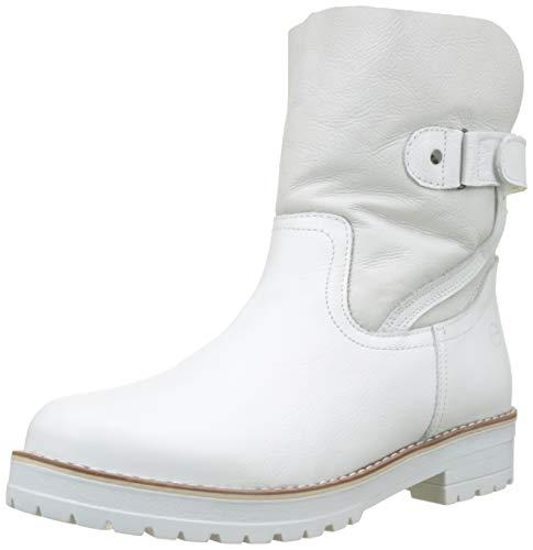 Tamaris Damen 26483-21 Stiefeletten, Weiß (Offwhite 109), 39 EU