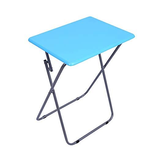 Multifunktionaler Tragbarer Klapptisch, Kleine Tabelle, Die Kampierenden Tisch Im Freien, Der Schreibtisch Der Innenministeriumkinder, Weiß Kocht,Blue