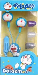 4 Season Cartoon Doremon Earphone (with Mic & Volume Key) Earphone Compatible with XIAOMI REDMI MI4 and Most Phones with 3.5mm Interface.