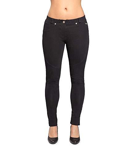 Aero wear Damen Velvet Pants, Schwarz, M