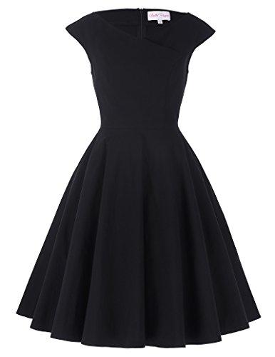 v-neck-vintage-wedding-dress-for-guests-knee-length-size-m-bp0243-1