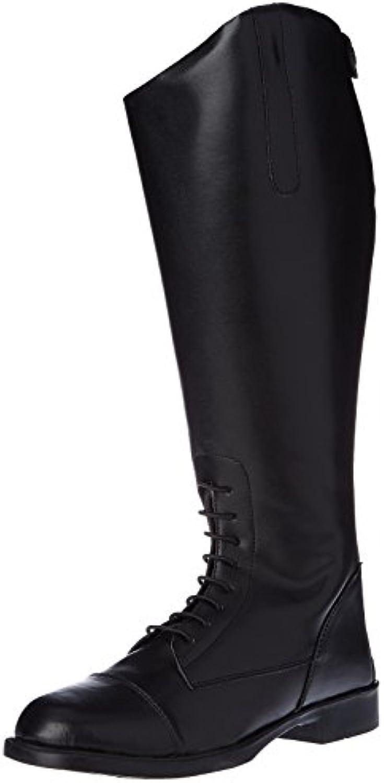 Hkm – Botas de equitación para New Fashion Corta/Gran, Todo el año, Mujer, Color Negro - Negro, tamaño 42 EU