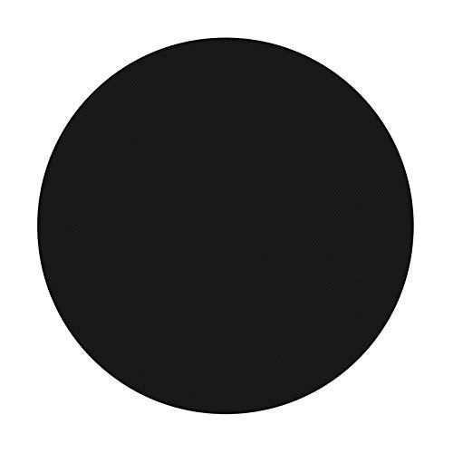 YUANZHOU Grillmatte, wiederverwendbar, rund, Teflon-Antihaft-Matte, Pfanneneinlage, Backblech, Wok-Platte, Backofen- und Elektro-Grills Küche, 24 x 24 cm, 1 Stück (Platte Küche Matten)