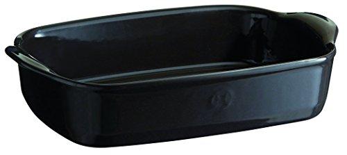 Emile Henry EH799650 Petit plat à four rectangulaire Céramique Fusain