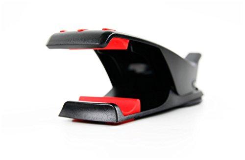 DURAGADGET Handy Halterung mit Klebefläche & Tuch Clip geeignet für Smartphones
