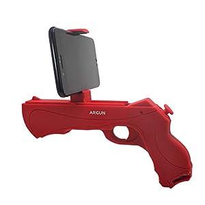 Prtukytt AR Gun Gamepad Augmented Reality-Controller und Schockwelle, smart Bluetooth-Verbindung Reale Szene somatosensorischen Vibration Ergonomie zu simulieren