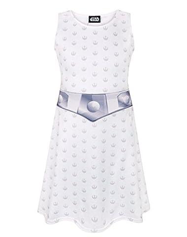 Star Wars Princess Leia Girl's Costume Dress (11-12 Years)