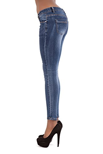 LustyChic - Jeans - Femme Blue Classic Faded