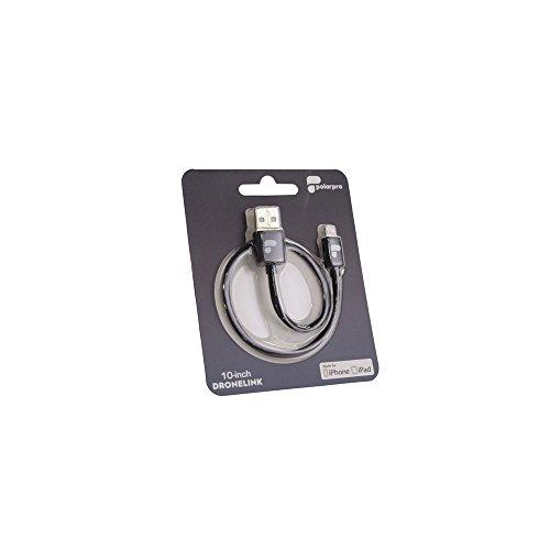 Polarpro Cable de mando a distancia DJI para iphone/ipad/Drone DJI iPhone/iPad/Drone DJI