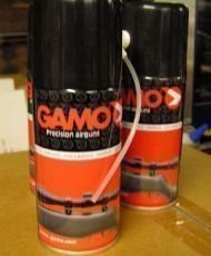Olio Aerosol spray per fucili ad aria Gamo - Latta da 150ml con ugello lungo e attacchi