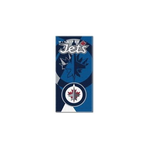The Northwest Company NHL Puzzle Strandtuch, 86,4 x 182,9 cm, Unisex, NHL Puzzle Beach Towel, 34-inches by 72-inches, Polar Night Blue, 34