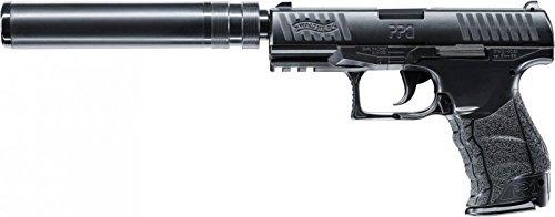 Walther Softair Federdruck Max. 0.5 Joule PPQ Navy Kit Airsoft Pistole, Schwarz, One Size