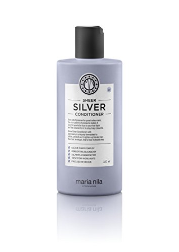 Maria Nila Sheer Silver Conditioner,1er Pack (1 x 300 ml) -